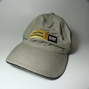 CAT PipeLine Machinery Embroidered Adjustable Hat